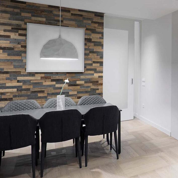 Bardage bois mur intérieur
