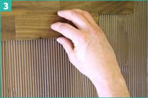Installation plaquette de parement bois