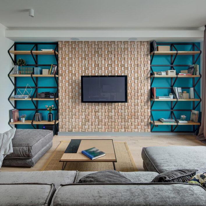 Mur décoratif salon