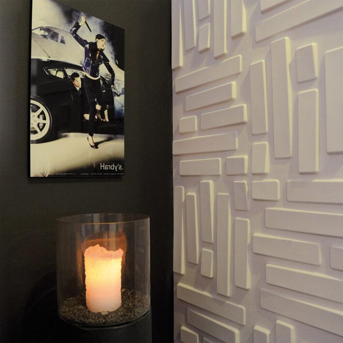 murs 3d moderne
