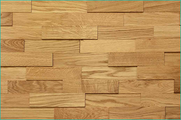 panneau bois chêne huilé