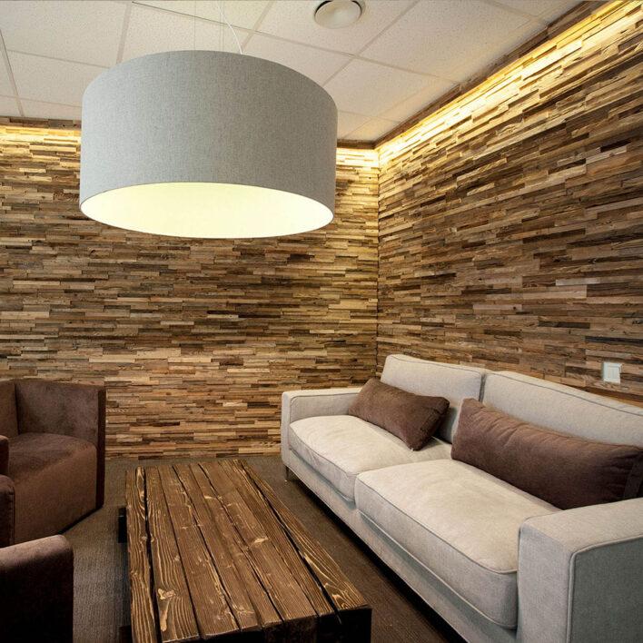 Panneau bois intérieur décoratif