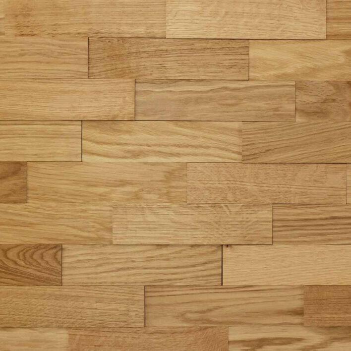 Panneau plaquette parement bois chêne huilé