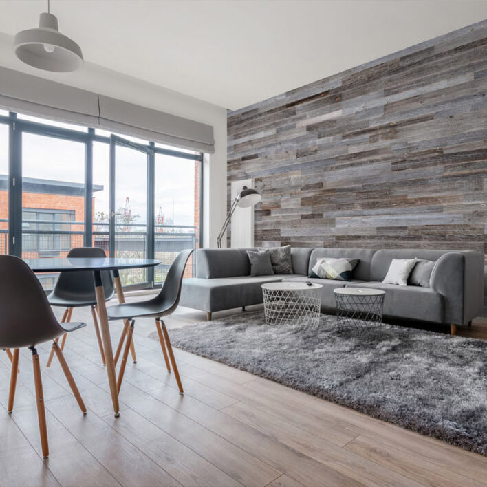 Panneaux muraux bois intérieur