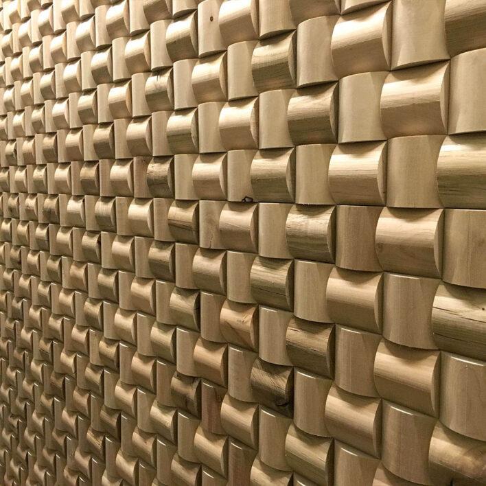 Panneaux muraux bois Rubato