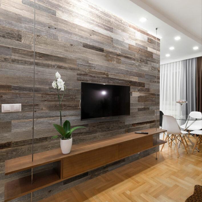 Panneaux murs intérieurs bois