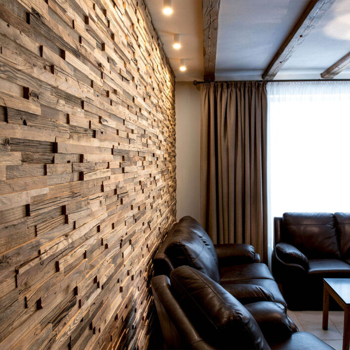 Parement bois intérieur