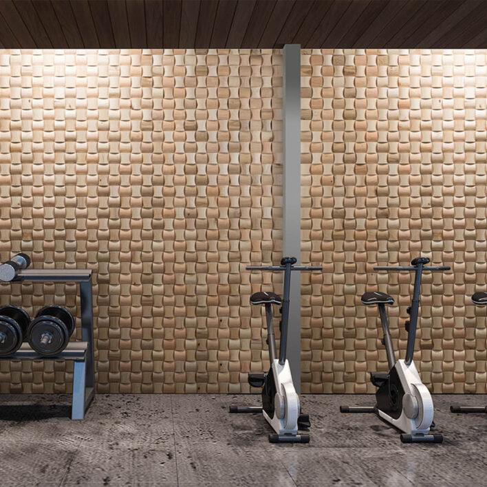 Parement mural bois intérieur