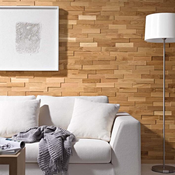 Plaquette de parement bois chêne