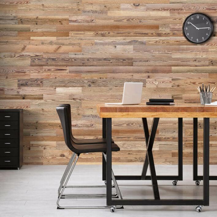 Revêtement intérieur en bois