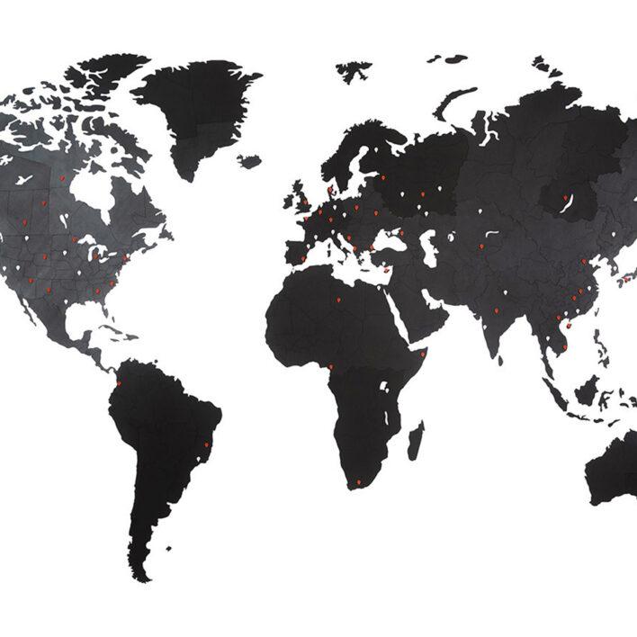 achat carte du monde