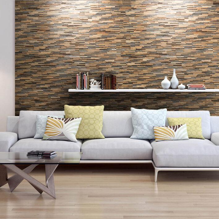 bardage bois intérieur décoratif