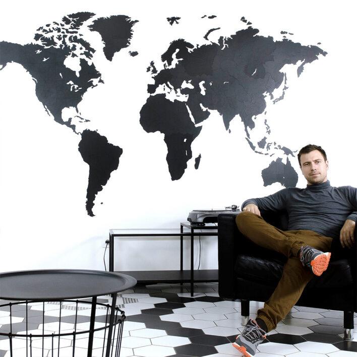 carte du monde géante acheter