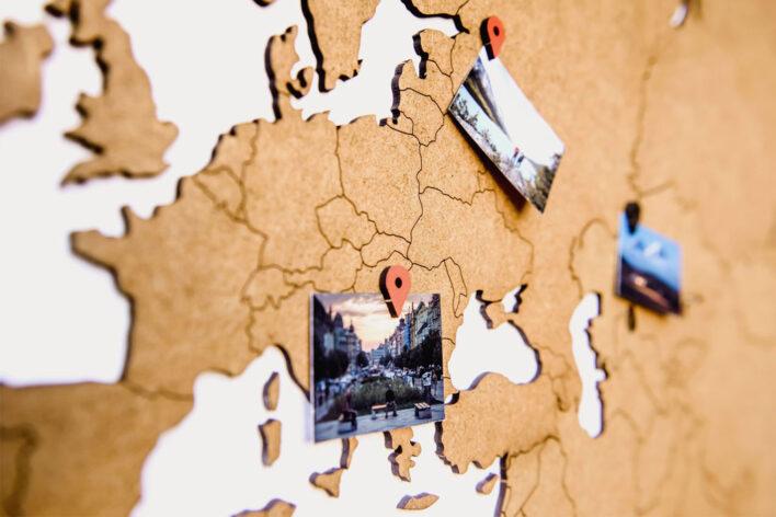 carte du monde map