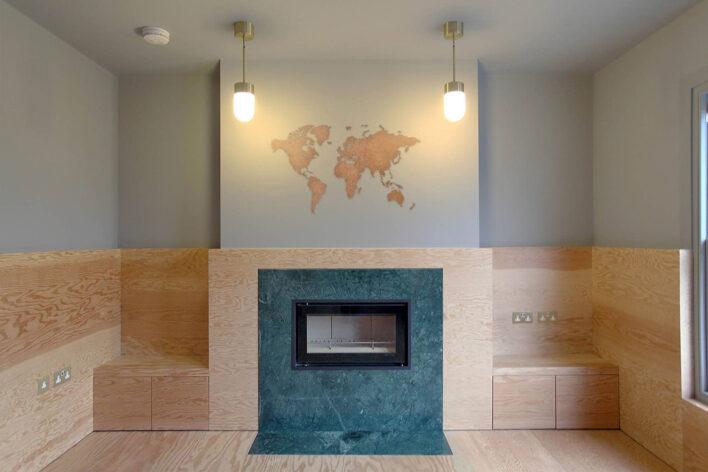 Map du Monde maison