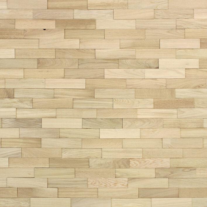 Parement bois mural chêne nature