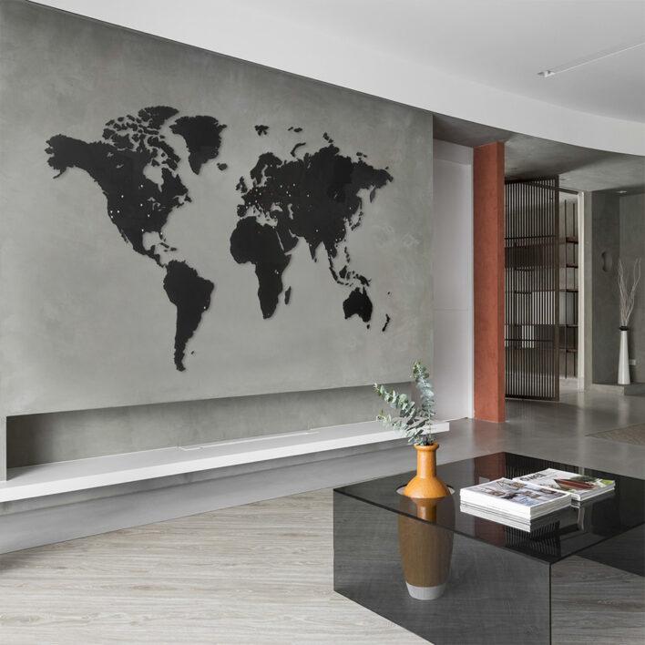 planisphère carte du monde