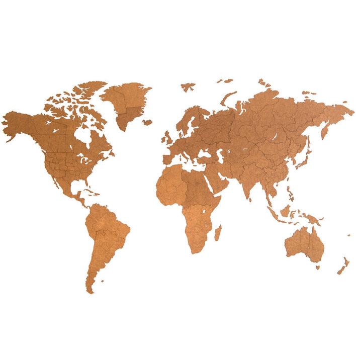 planisphere du monde grand format