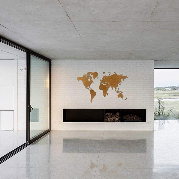 planisphere mural design