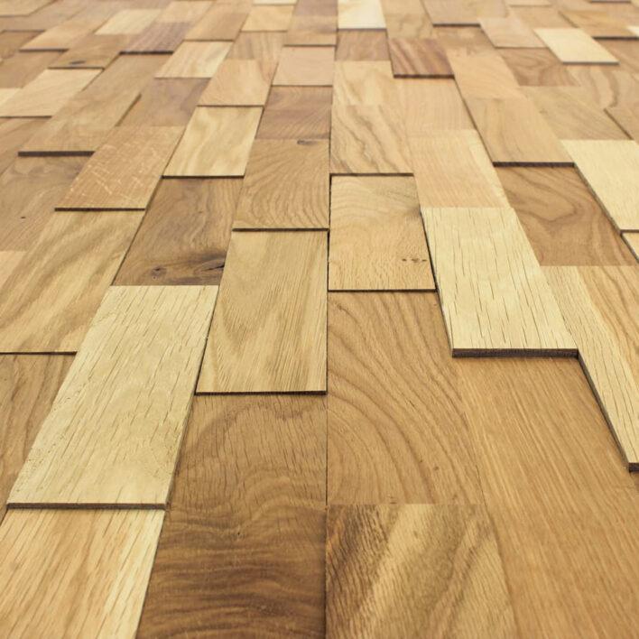 plaquette parement bois chêne rustique