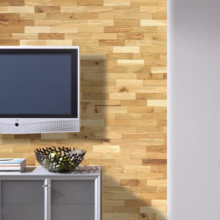 plaquette parement bois mural