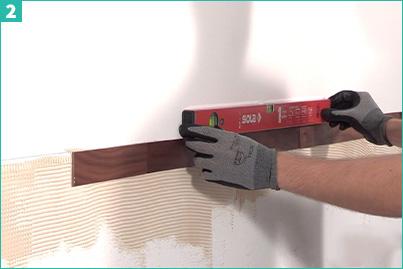 pose panneau bois verticale