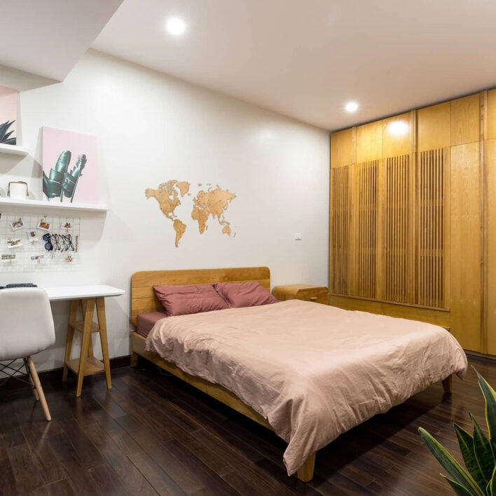 tete de lit carte du monde decor