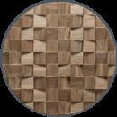 mur en bois dominus